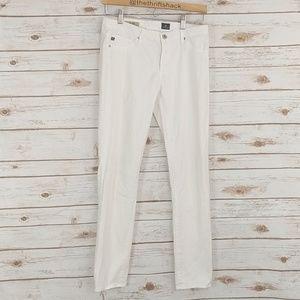 Adriano Goldschmied AG White Stilt Cigarette Jeans